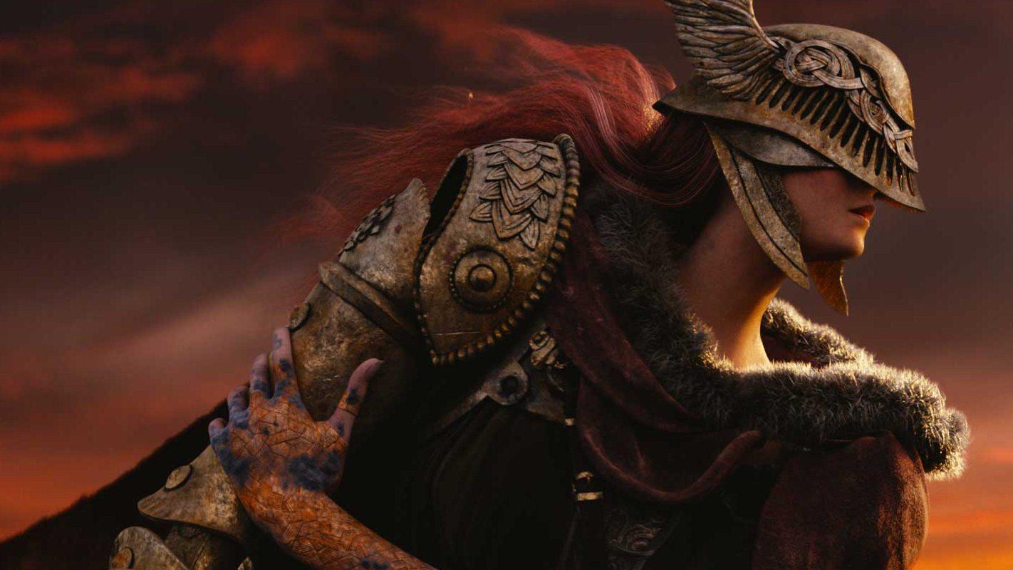 Все говорят о леди-рыцаре из игры Elden Ring — высокой даме, которой посвящают мемы и арты