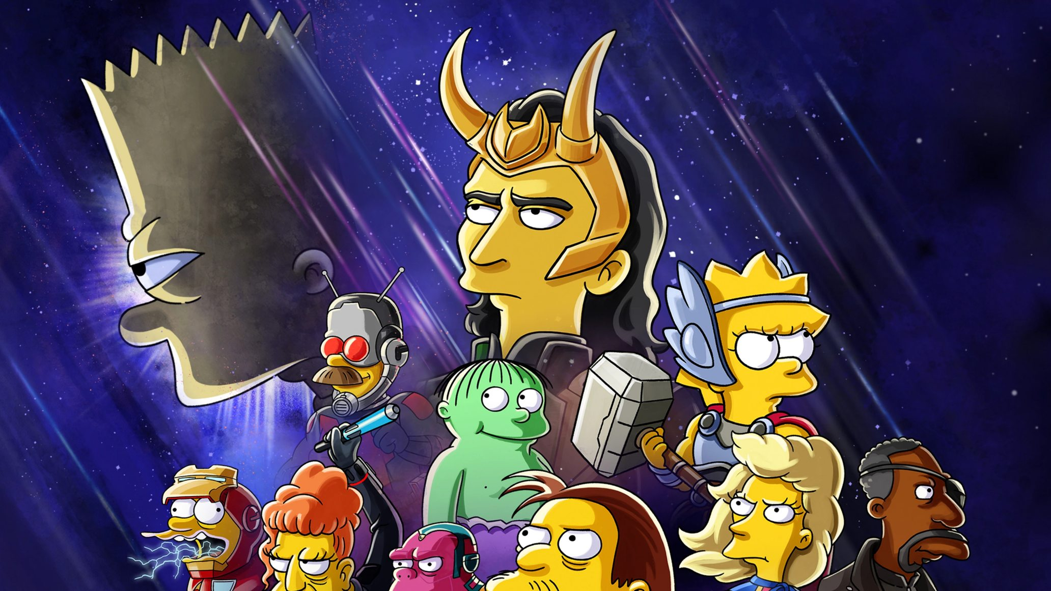 Disney выпустит мультфильм-кроссовер «Симпсонов» и сериала «Локи»