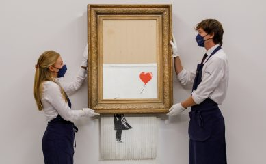 Картину «Любовь в мусорном баке» Бэнкси продали за рекордные 25,4 млн долларов